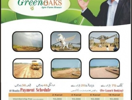 Future investment in Farm Houses at pre-launching price in Pakistan