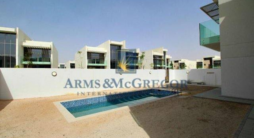 4Br Mediterranean Duplex Villa In Meydan Sobha for rent