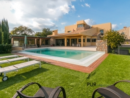 A dream house. High-quality. In the heart of the island. In 15 minutes in Palma.