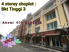 4 Storey Shoplot : Bukit Tinggi 3  @ Sazean Business Park