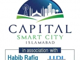Development work is underway at Capital Smart City Islamabad.