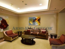 3 Bedroom(Maid's room + Library + Laundry room) Penthouse in Golden Mile for rent.