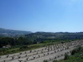 Finca rústica en venta en La Xurra con impresionantes vistas panorámicas en Moraira