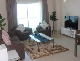 18th floor 2 bedroom exclusive tower fully furnished