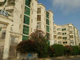 1000 SQUARE FEET 2 BED APARTMENT FOR SALE GULISTAN E JOHAR