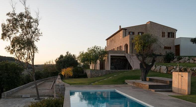 Finca in Sant Llorenc. Calm, serenity. Feel good. You feel it. Immediately.
