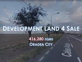 Development Land For Sale (41.6 HA) Oradea, Transylvania