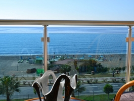 SEA FRONT LOCATION APARTMENT FOR SALE IN ALANYA/TURKEY