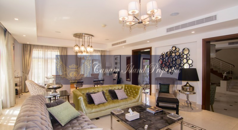 Beautiful Mansion In Jumeirah Islands Villa For Rent