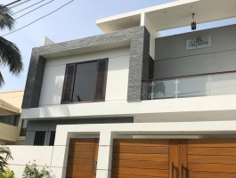 Brand new bungalow for sale 500 square yard 2+4 bedroom