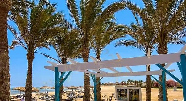 The cabanas eastern coast Marsa Alam