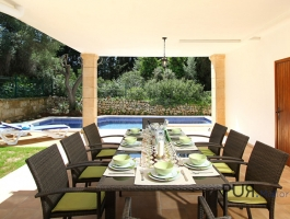 Alcudia. The hill of Bonaire. A villa in a very good location. High-quality.