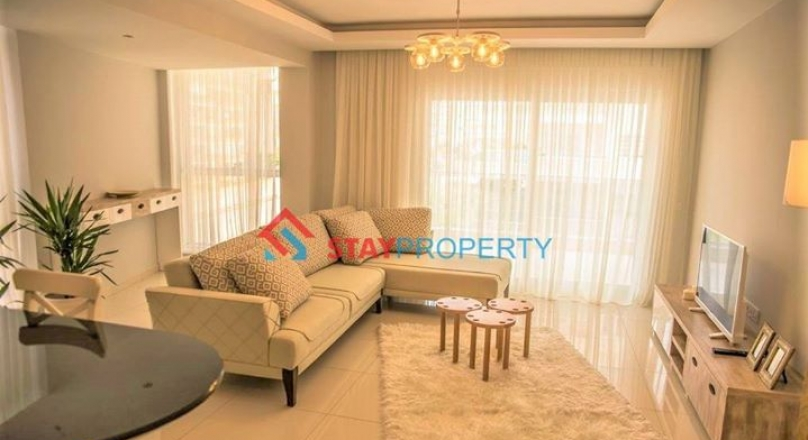 Luxury 1+1 Apartments for Sale in Alanya Turkey