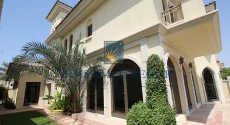 4 Bedroom Villa For Rent In Palm Jumeirah