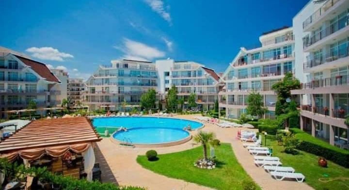 Apartment on beach sea in Bulgaria