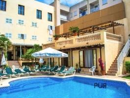 Cala Ratjada. Very well run hostel with 23 rooms