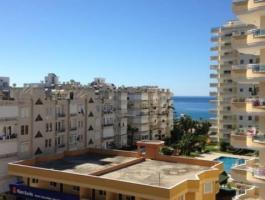 Penthouse on beach sea in Turkey