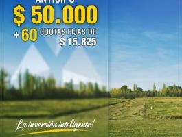 LOTEO EMANUEL 1 CINCO SALTOS - NEW PLAN! MORE FEES !!