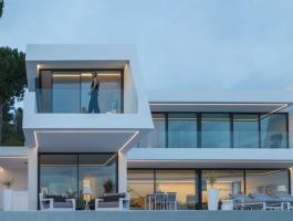 Villa in Moraira with sea views