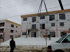 4 ½ et 5 ½ CONSTRUCTION NEUVE, LUXUEUX, juin, juillet 2020