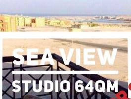 Unique opportunity - large studio with sea view