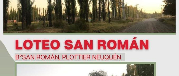 Loteo San Roman is located in the town of Plottier