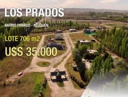 LAND FOR SALE - Land in Barrio Los Prados (Neuquén)