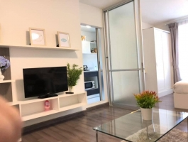A 31 Sq M one bedroom apartment on 2nd floor with garden at D' vieng Condo