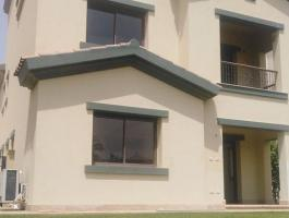 Villa with Ac's and kitchen appliances for rent in compound Mivida