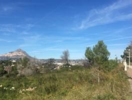 Building plot with building license for sale in Jávea
