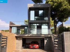 Modern new construction villa in Benissa La Fustera with sea views