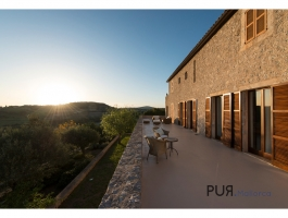 The finca. Totally private.