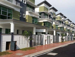 Only Unit !! 2.5 Storey Semi-D Desa Bayumas, Klang