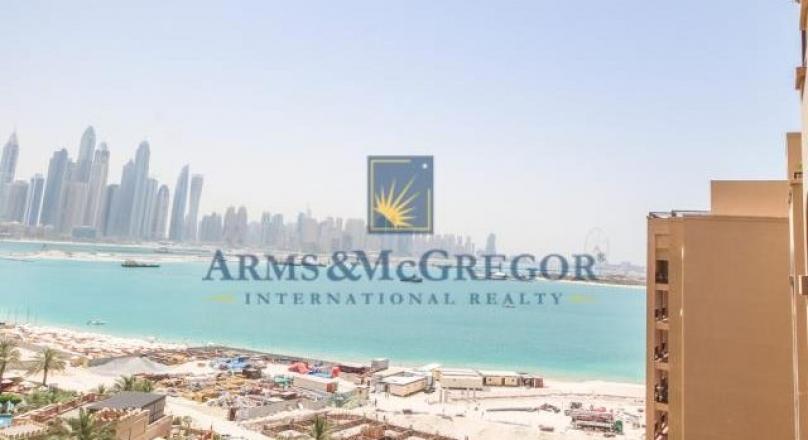 2 B/R full sea view for sale in Fairmont North, Palm Jumeirah