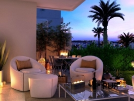 In the southeast: enjoy your new chic apartment. In Cala d'Or
