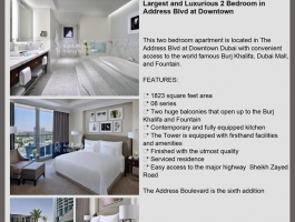 5 Star Two Bedroom in Downtown