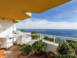 Illetas. Apartment. Best location. Breathtaking sea view. Modern equipment.