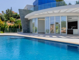 Modern new build villa for sale in Jávea with sea views in Balcón al Mar