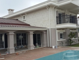 FARM HOUSE IN KUŞADASI FOR SALE WITH NATURE AND SEA VIEW (MEF EMLAK)