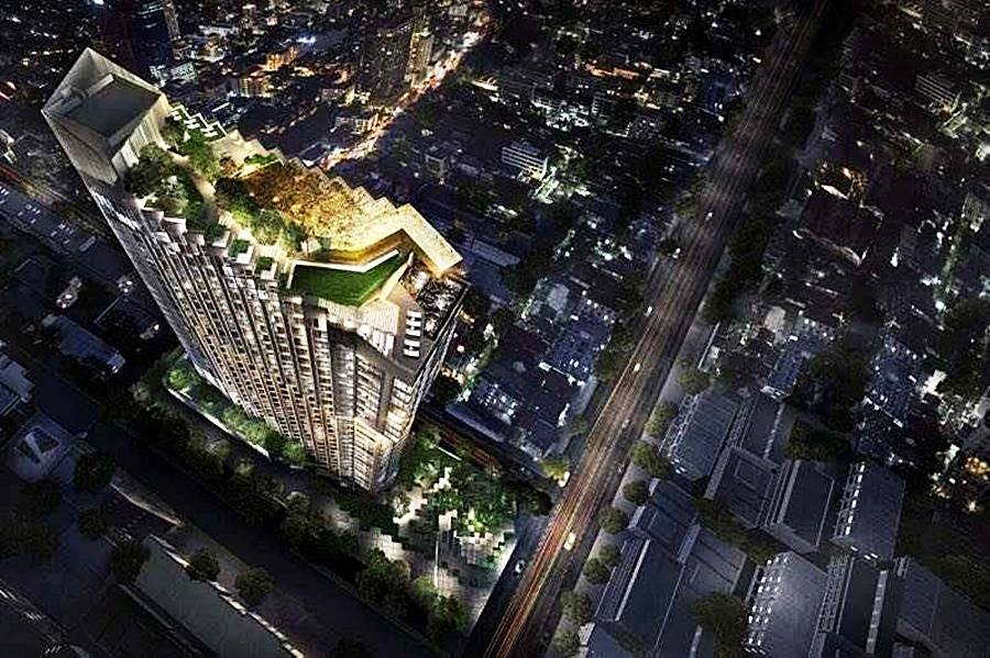 Re-Sale TheEdge Condominium Central Pattaya by Sansiri.