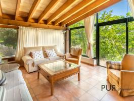 There is a finca with pool and vacation rental license.