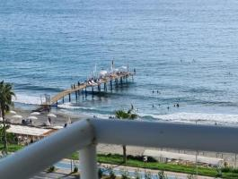 2 BEDROOMS SEA VIEW FURNISHED APARTMENT FOR SALE IN SEA FRONT LOCATION