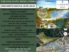 LANDS IN URBANIZATION PRIMA TERRA