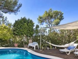 A lot of villa. Have a good look. And a location. Portals Nous.