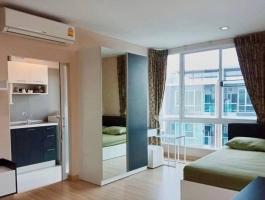 A 30Sq M studioroom on 7th floor of One plus Klong chon 2 Condominium.