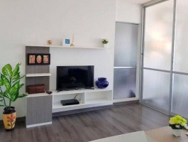 A 30 Sq M apartment 0n 5 floor with one bedroom at D'vieng condominium Santithum