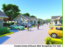 FANAKA ESTATE, KIKUYU- 3 BEDROOM BUNGALOWS IN A GATED COMMUNITY