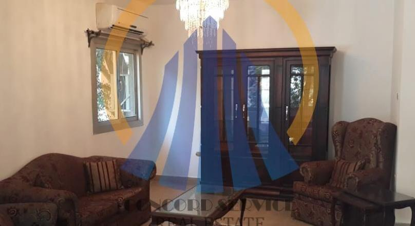 Apartment Ground floor For Rent Furnished in Degla, Maadi