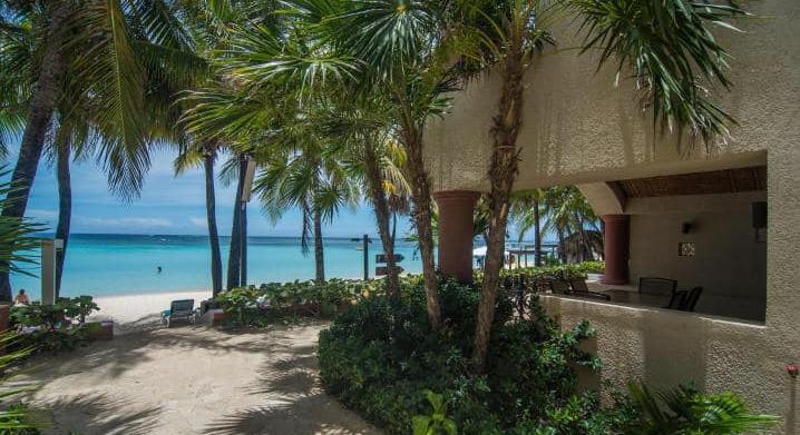 Beachfront fully furnished condo