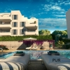 Cala d'Or. Everything in white. Ibiza in Majorca. New build apartments. The chic marina in Lauflage